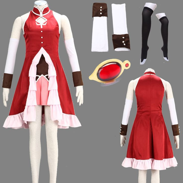 eFunLive - Puella Magi Madoka Magica Kyoko Sakura cosplay costume suit dress, $68.27 (http://www.efunlive.com/puella-magi-madoka-magica-kyoko-sakura-cosplay-costume-suit-dress/)