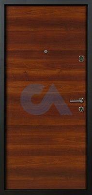 Входная дверь Нова для квартиры вид изнутри