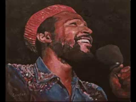 Time Lapse Film of Dave Crocker painting Marvin Gaye