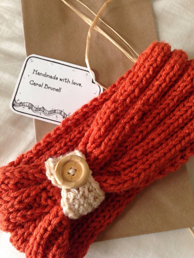 Knitting Pattern Headband With Button : Top 10 Knitted Headband Designs Knitted headband ...