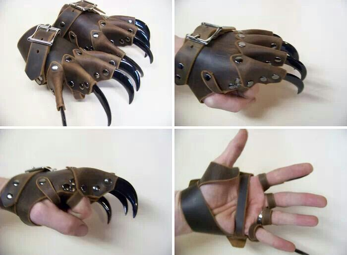 Excellent way to do the claws.