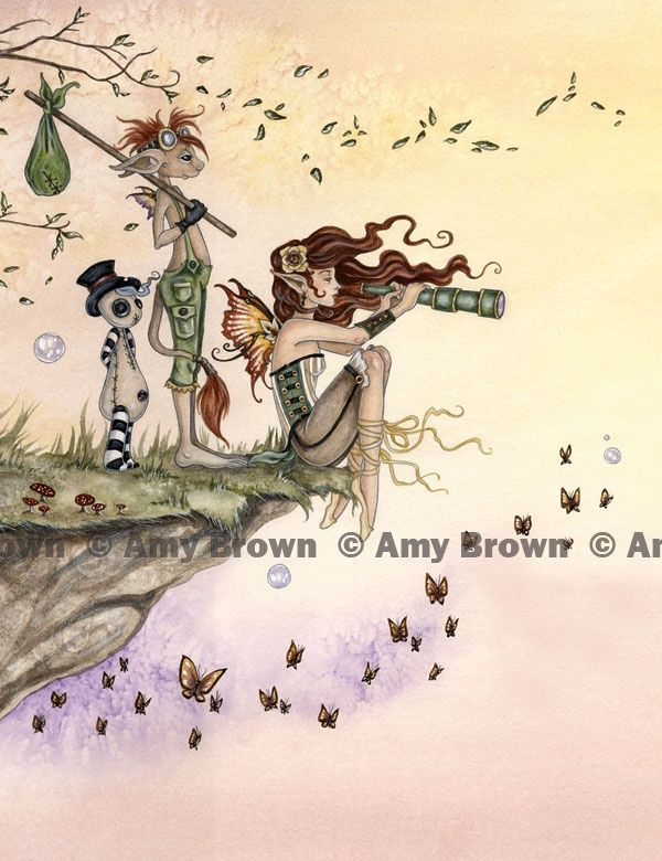 amy brown the green fairy art   Amy Brown: Fairy Art - The Official Gallery