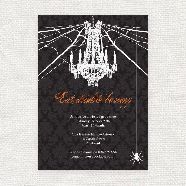 Free printable halloween invitation templates halloween gt halloween dinner party for Halloween invitation free