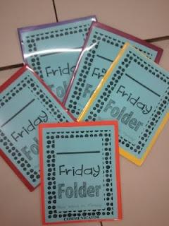 Friday Folder Cover freebie!