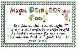 Reindeer Food and Snowman Poop
