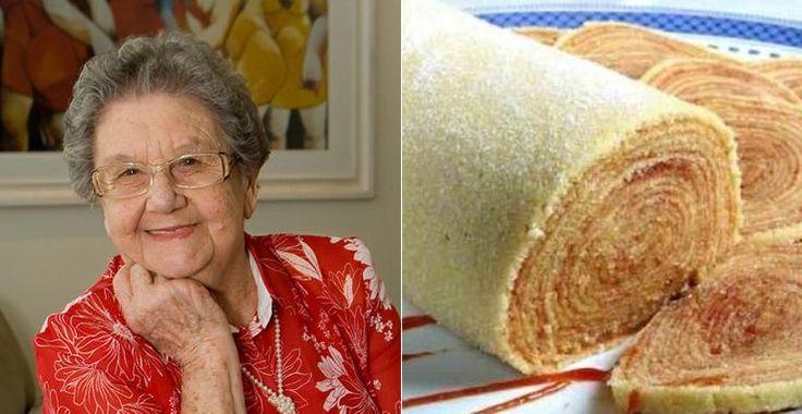 Palmirinha Onofre ensina receita de bolo de rolo. Confira o passo a passo!