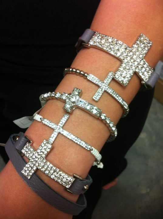 Find us on Facebook to order these gorgeous cross bracelets! Starting at only $12.95 to $14.95!!!!!! www.facebook.com/...