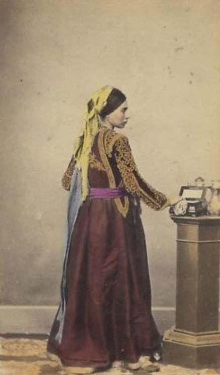 Jewish Algerian Sephardic beautiful lady