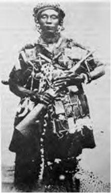 """Queen Mother Nana Yaa Asantewaa of Ashanti Empire (1863-1923)  """"...leaders would not sit down to see their King taken away without firing a shot. No white man could have dared to speak to a leader of the Ashanti in the way the Governor spoke to you this morning...I cannot believe it...if you the men of Ashanti will not go forward, then we will. We the women will. I shall call upon my fellow women. We will fight the white men. We will fight till the last of us falls in the battlefields."""""""