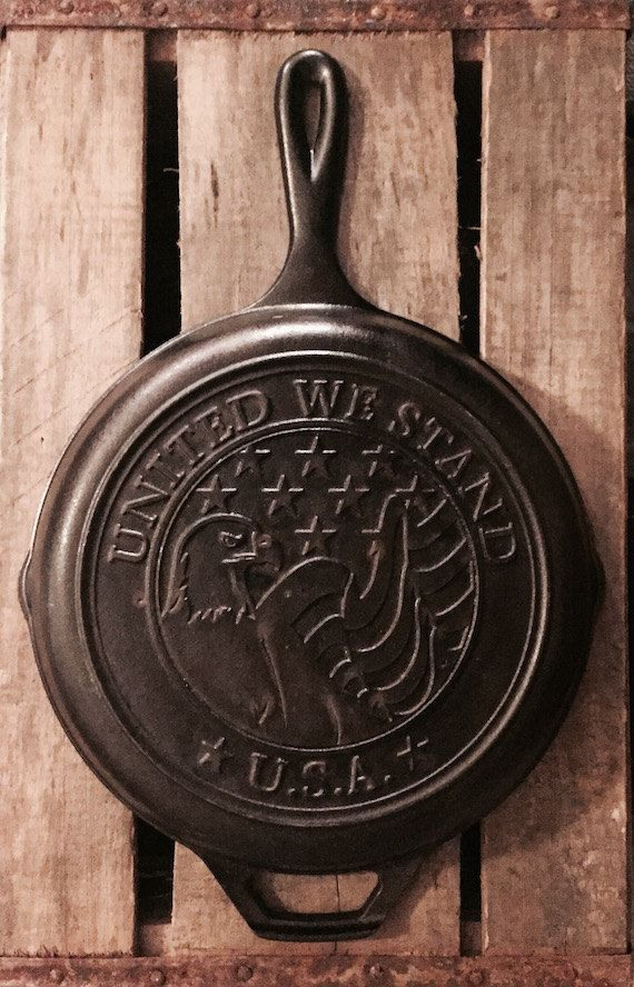 Vintage Limited Edition Lodge Cast Iron Skillet by TheVintageRedeem on Etsy