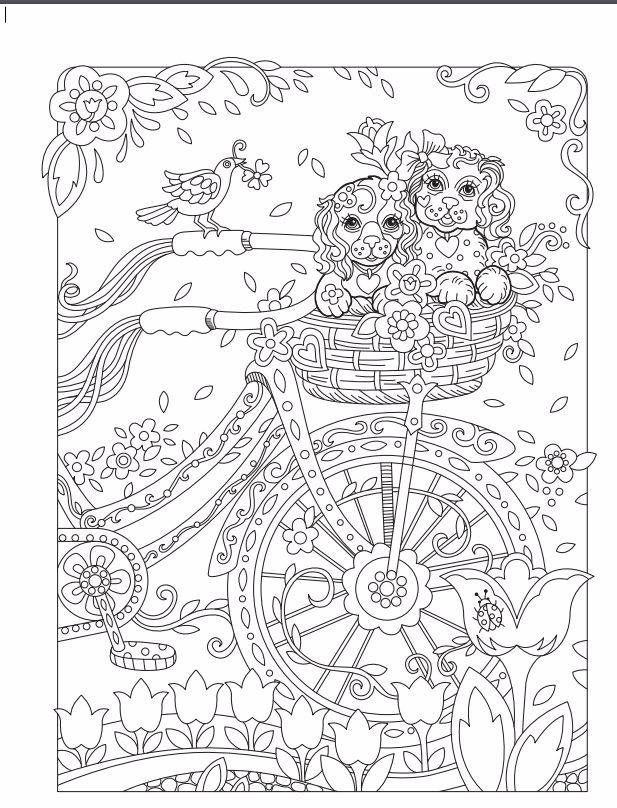 Marjorie Sarnats Pampered Pets New York Times Bestselling Artists Adult Coloring Books Sarnat