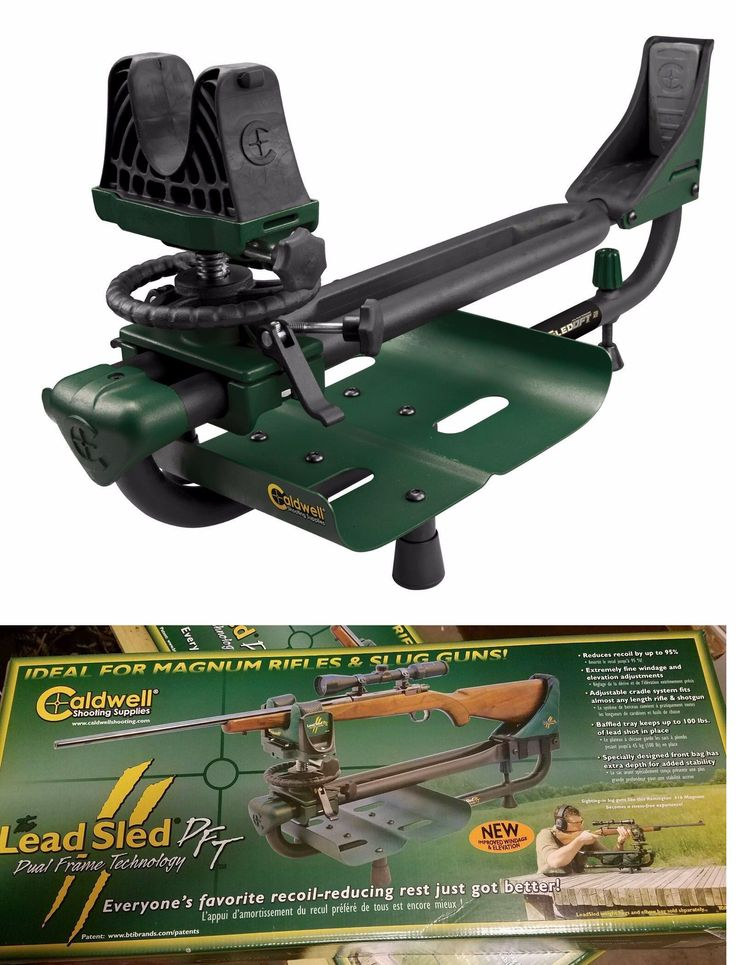 Benches and Rests 177887: New!!! Caldwell Lead Sled Dft 2 Model 336677 Free Shpping -> BUY IT NOW ONLY: $165.79 on eBay!