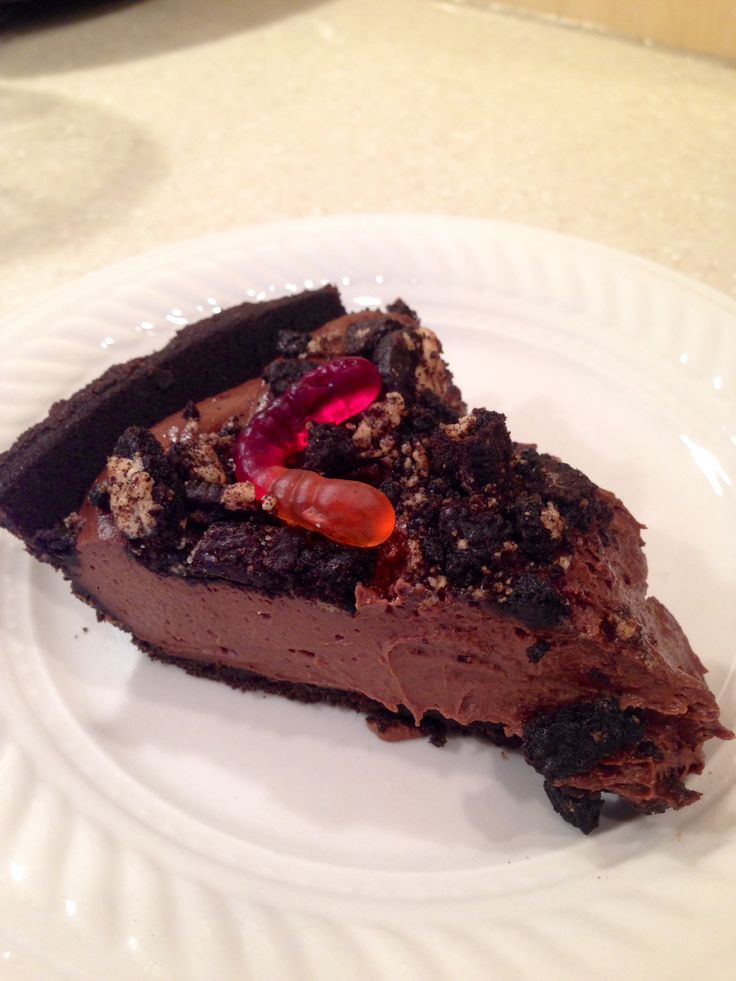 Believe it or not, but this dirt pie recipe is healthy. It has a secret ingredient or two that makes this chocolate dessert as delicious as can be.