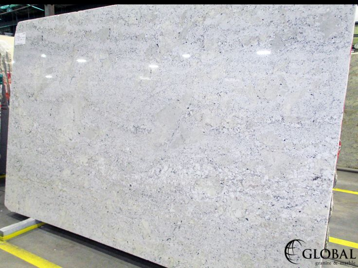 Fantastic White granite slab. Visit globalgranite.com for your natural stone needs.