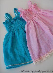 Itty Bitty Easy Girls Dress | AllFreeSewing.com