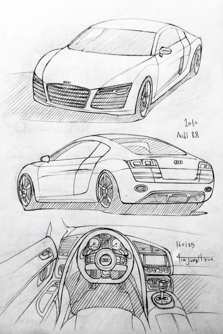 Les 54 meilleures images du tableau dessin sur pinterest dessins de voitures croquis et id es - Croquis voiture ...