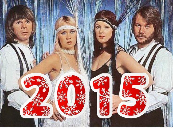 ABBA Fans Blog: Abba Happy New Year....
