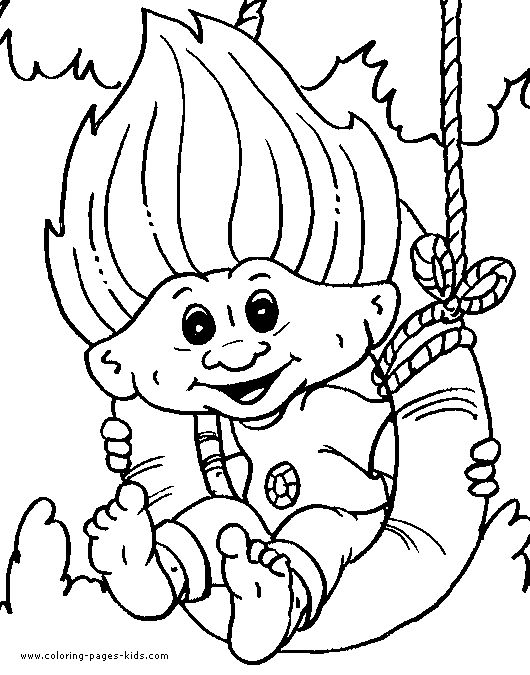 7 best Coloring Pages (Treasure Trolls) images on