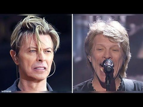 JON BON JOVI - TRIBUTE To DAVID BOWIE - RIP - JANUARY 2016 - HEROES