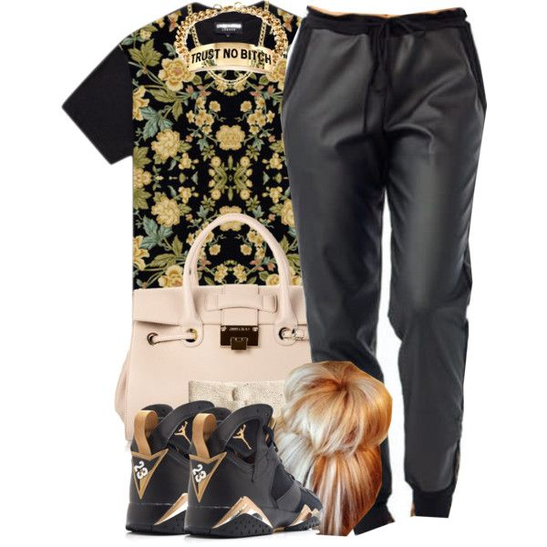 Trust No B****, created by oh-aurora on Polyvore