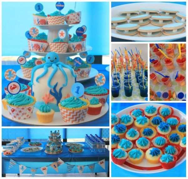 Cupcake Decorating Ideas Under The Sea : 15 best images about Kids parties on Pinterest Dinosaur ...