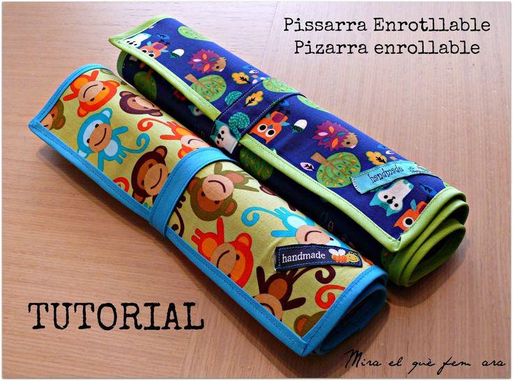 Pissarra enrotllable / Pizarra enrollable - Tutorial