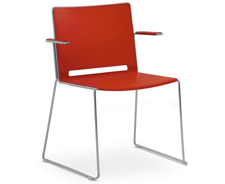 Easy  Seduta attesa e collettività. Telaio a trapezio verniciato alluminio, sedile e schienale in plastica, braccioli integrati.  Codice:0501  Versione senza braccioli (codice 0500).  Optionals  A:Plastica seduta Sabbia.  B:Plastica seduta Verde.  C:Plastica seduta Rosso.  D:Plastica seduta Blu.  E:Plastica seduta Bianco.  F:Plastica seduta Grigio.  G:Plastica seduta Nero.  TC:Telaiocromato.  R:Rivestimento schienale e sedile.  TAV:Tavoletta lato destro in polipropilene nero.