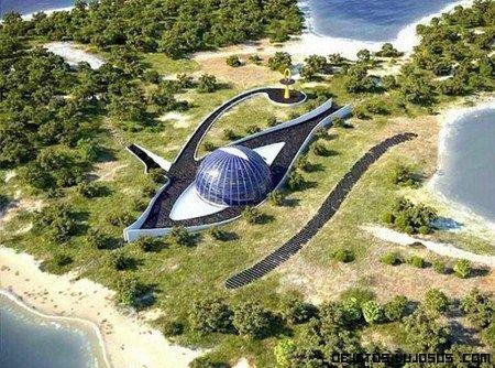 La mansión ecológica de Naomi Campbell