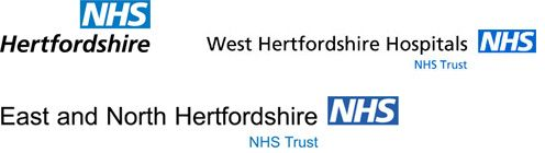 East and North Hertfordshire NHS Trust Logos