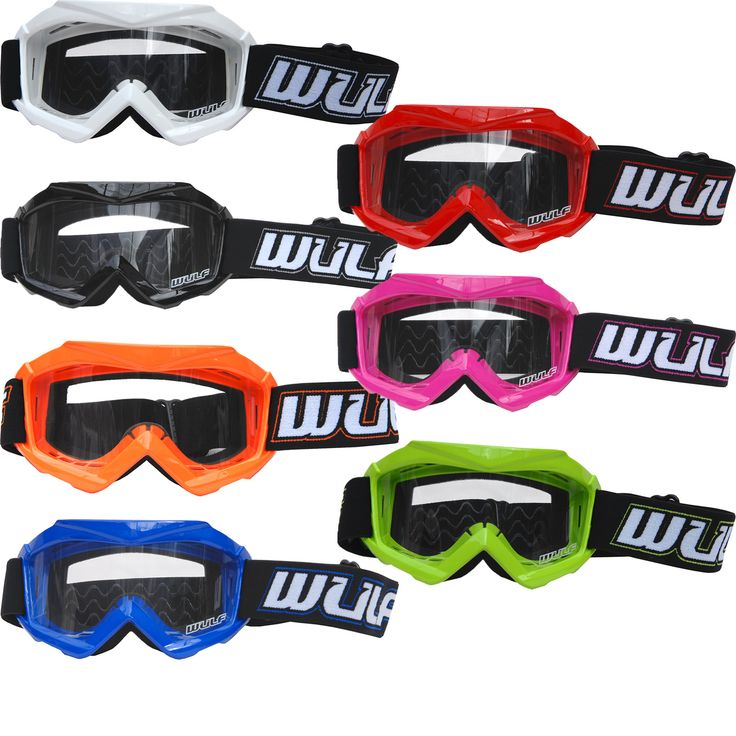 The Wulf Cub Tech Junior Motocross Goggles are another brilliant item from Wulfsport, catering to the younger MXers. The Tech Juniors are a great pair of goggles designed to be comfortable, safe and look awesome yet they're still under £20