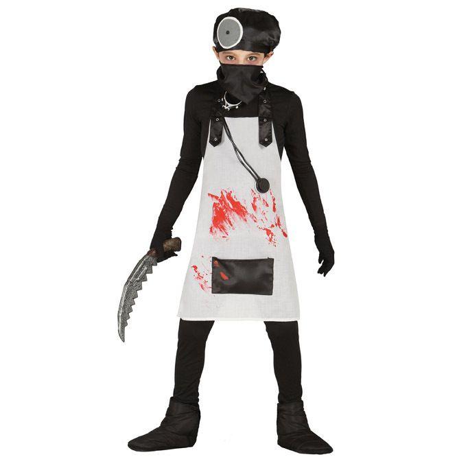 disfraz de doctor sangre para nio