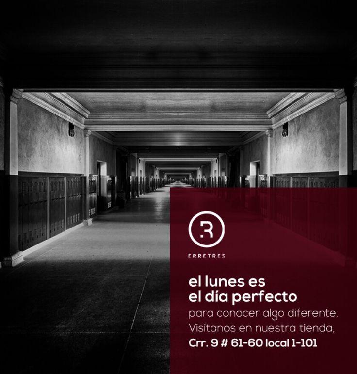 Visítanos en la Carrera 9 # 61-60 local 1-101  #ERRETRRES #DiseñoIndependiente #ElLugarDelDiseño