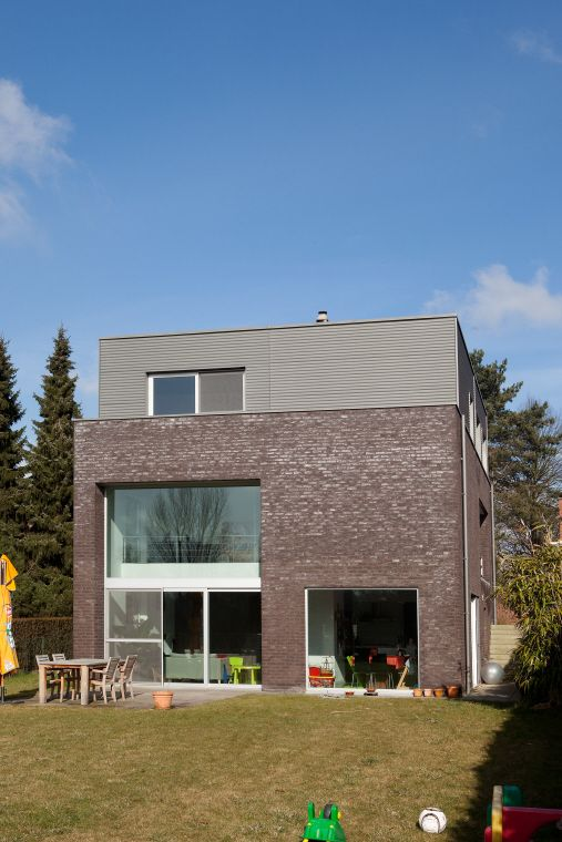 Private house, Heverlee (Belgium) by Comodo architecten ...