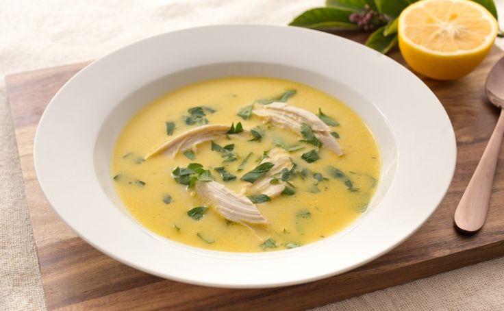 skinnymixer's Greek Lemon & Egg Soup - skinnymixers