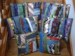 """I am so excited to bring you this idea from """"QuiltDiva"""" Julie Sefton of Memphis, TN. She made these pillows for the children and grandchild..."""