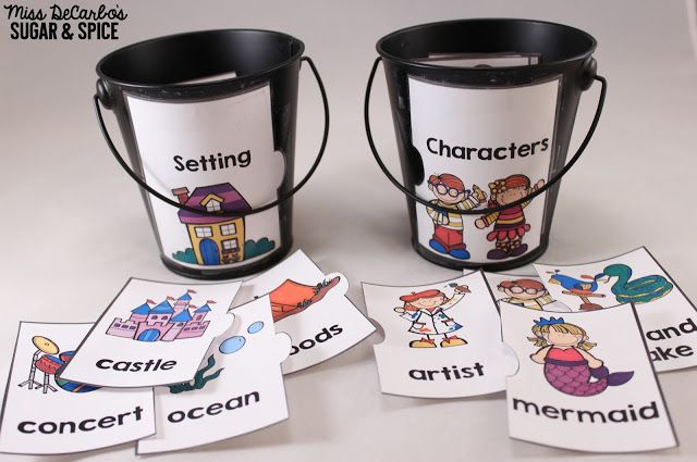 Work On Writing: Story Puzzles Writing Center