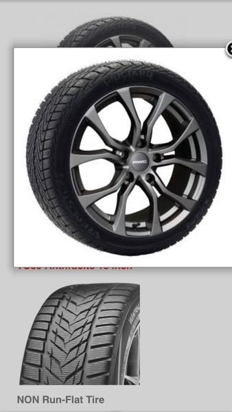 winter package tires on wheels for toyota highlander available to buy online