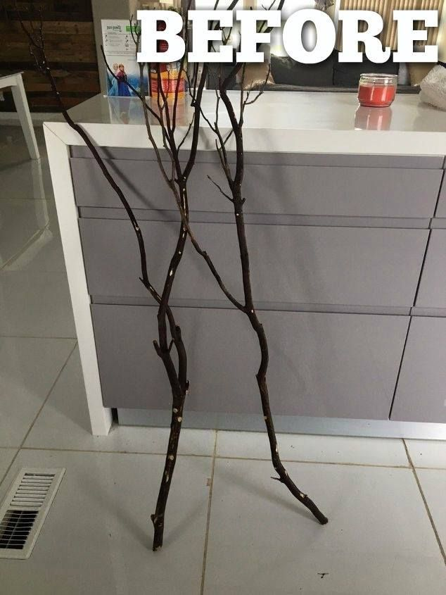 This might be the coolest thing you'll see all day! #WallArt #WallArtDecor #diydecor #Branch #diyproject