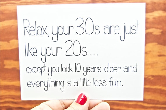 Funny Birthday Card 30th Birthday Card Happy Bday Happy