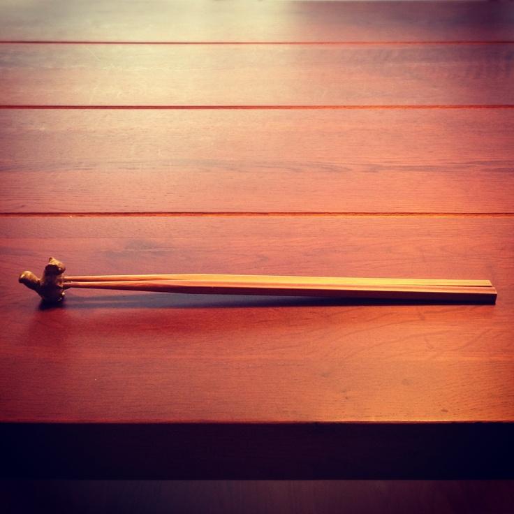小リスの箸置き。
