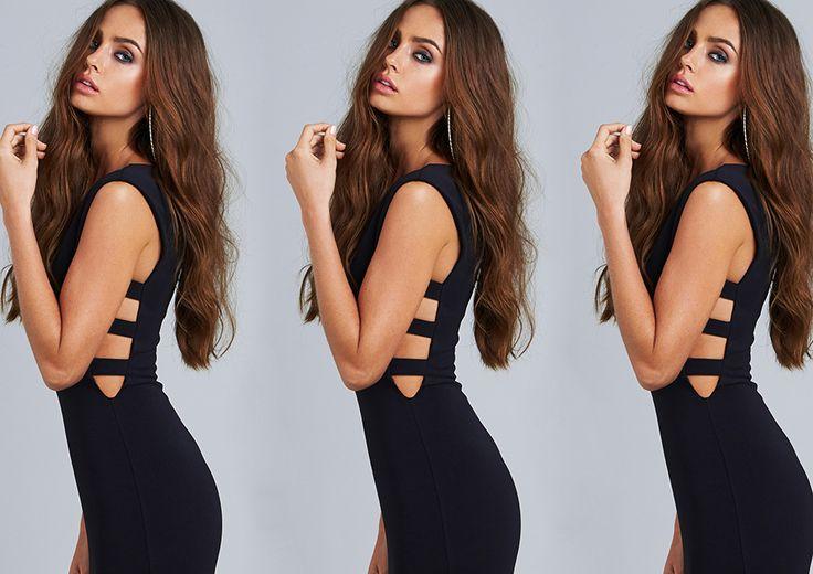 Shop now- http://www.nookie.com.au/shop/products/turlington-bodycon-dress/black