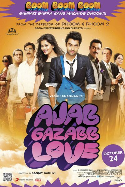 Director: Sanjay Gadhvi Writers: Anvita Dutt, Mayur Puri Stars: Jackky Bhagnani, Nidhi Subbaiah, Darshan Jariwala Genres:Romance   Ajab Gazabb Love (2012) Watch Hindi Movie Free Online: Cloudy Watch Full Ajab Gazabb Love (2012) Watch Hindi Movie Free Online: Openload Watch Full Ajab Gazabb Love (2012) Watch Hindi Movie Free Online: Speedplay Watch Full Ajab Gazabb Love (2012) Watch…Read more →