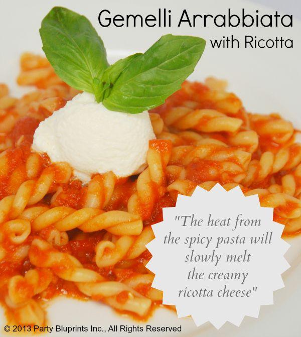 Gemelli Arrabbiata Pasta Recipe