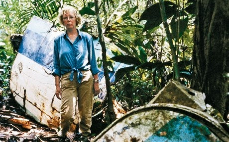 In 1971 Juliane Koepcke survived a plane crash in the Peruvian jungle. Only now can she bear to tell the full story, in her memoir When I Fell from the Sky.