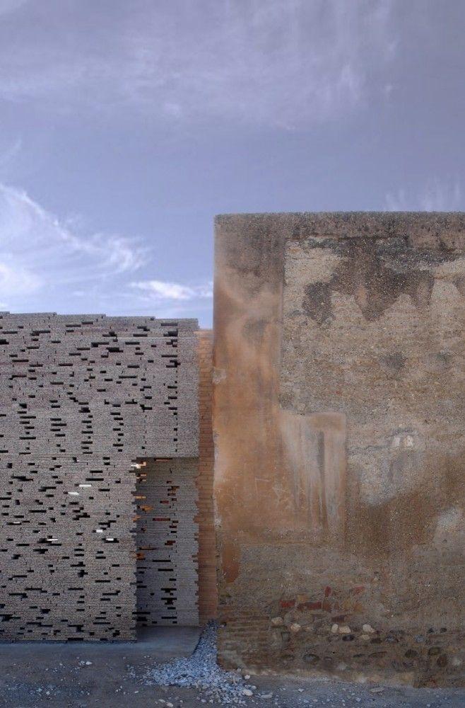 Muralla Nazarí en el Alto Albaicín / Antonio Jiménez Torrecillas