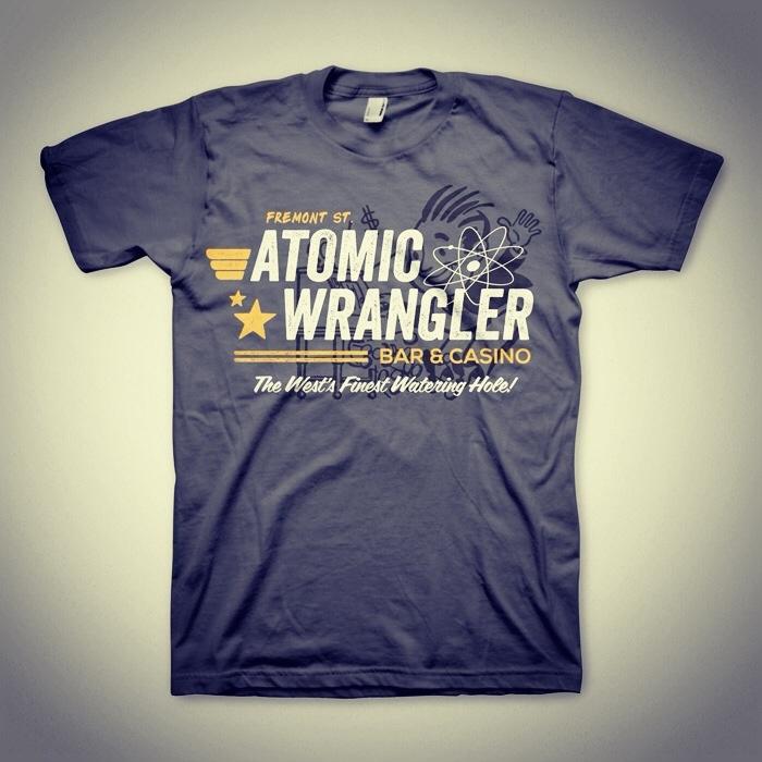 Atomic Wrangler - Fallout Tee #fallout #tshirt #tee #type