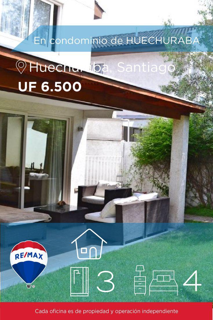 [#Casa en #Venta] - En condominio de HUECHURABA 🛏: 4 🚿: 3  👉🏼 http://www.remax.cl/1028018067-30 #propiedades #inmuebles #bienesraices #inmobiliaria #agenteinmobiliario #exclusividad #asesores #construcción #vivienda #realestate #invertir #REMAX #Broker #inversionistas #arquitectos #venta #arriendo #casa #departamento #oficina #chile