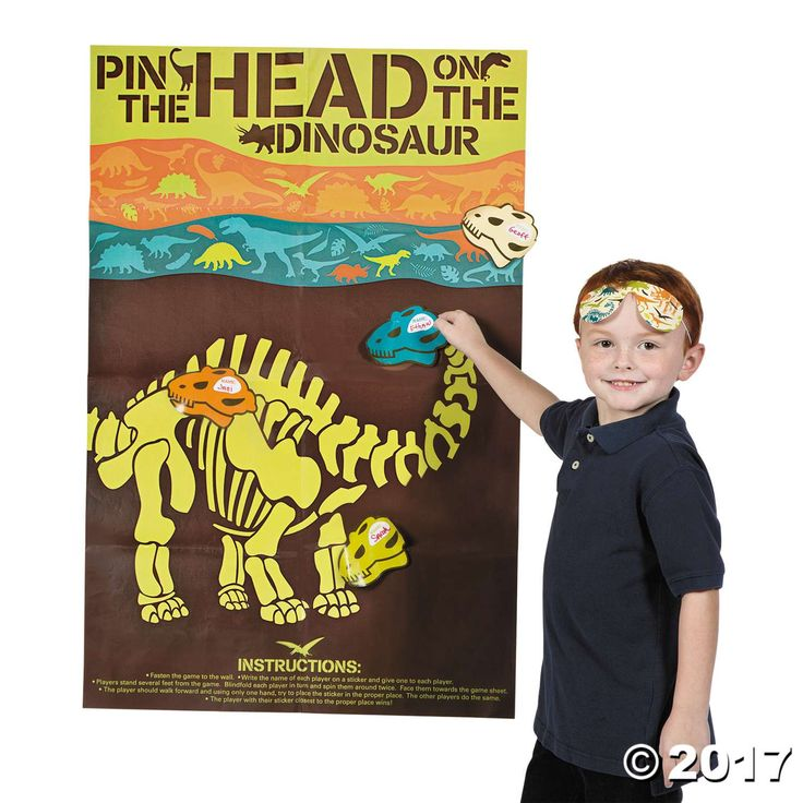 17 Best Ideas About Dinosaur Party Games On Pinterest