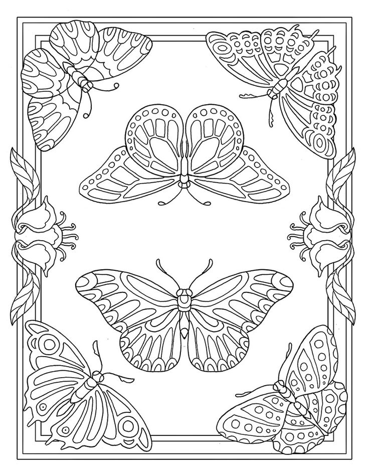 Adult Coloring Page From Pour Prendre Mon Envol Book