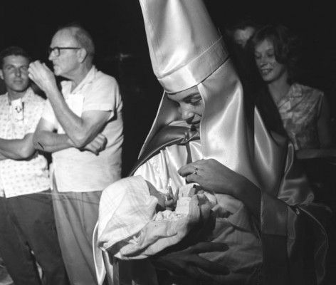 Image result for KKK Mother with Child, Beaufort, S.C., 1965